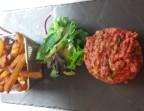 Photo *Tartare de bœuf haché minute, préparé par nos soins  - Ô BISTROT