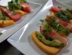 Photo *Salade d'été (avocat, melon, pastèque et basilic) (végétarien) - Ô BISTROT